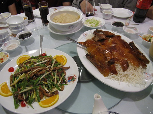 Peking Duck fixings, East Ocean City, Boston