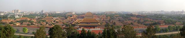 Forbidden City panorama.