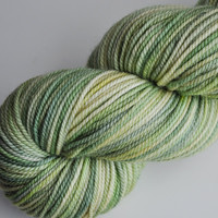 "::green:: ""Lemongrass"" on Sundrop superwash"