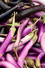 (ion-bogdan dumitrescu) Tags: pink lebanon long purple farmersmarket small organic beirut aubergines eggplants bitzi ibdp mg5657 soukeltayeb gettyvacation2010 ibdpro wwwibdpro ionbogdandumitrescuphotography