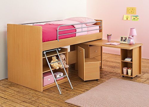 Hampshire Midsleeper Bunk Bed