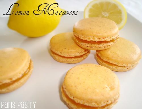 柠檬macarons用柠檬酱