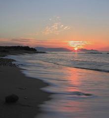 amanecer en percheles (Miguel A.Ureña) Tags: españa canon playa murcia amanecer percheles 40d