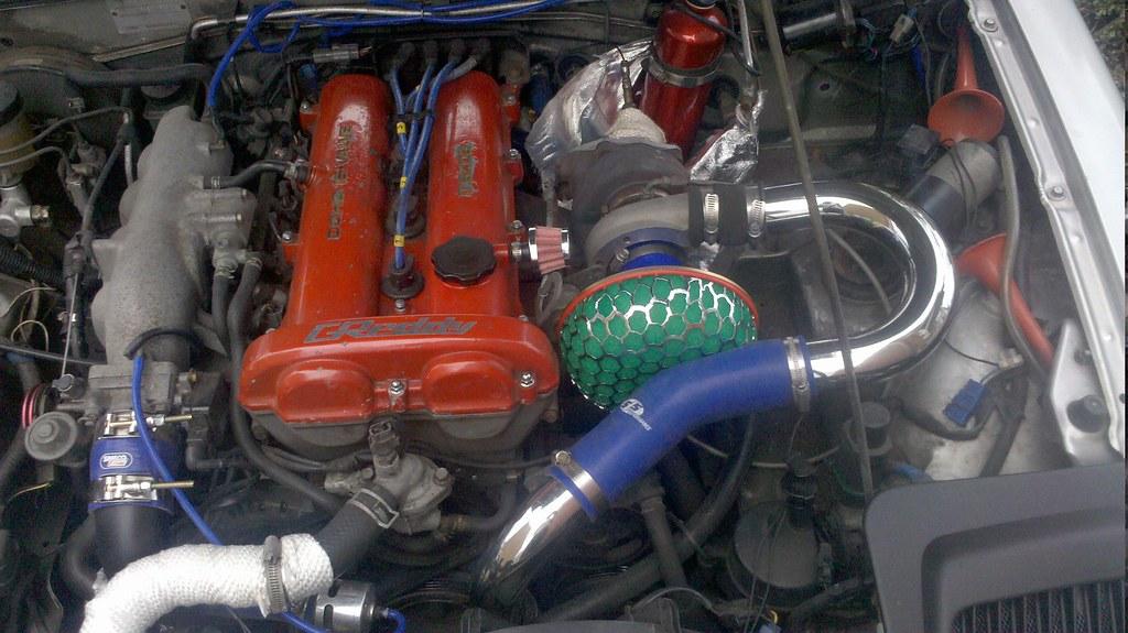 HKS Mushroom filter on my MX5 GReddy Turbo