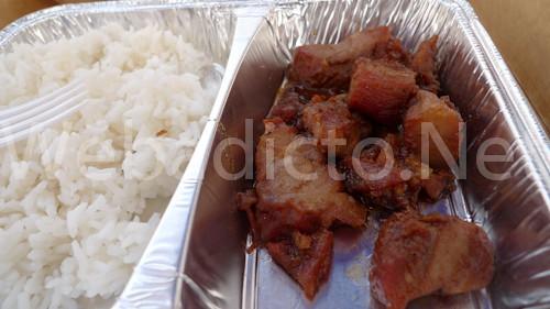 Chancho con arroz blanco - Royal - Mistura 2010