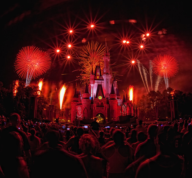 Magic Kingdom - Bombs Away for Fireworks Friday!! (Explored)