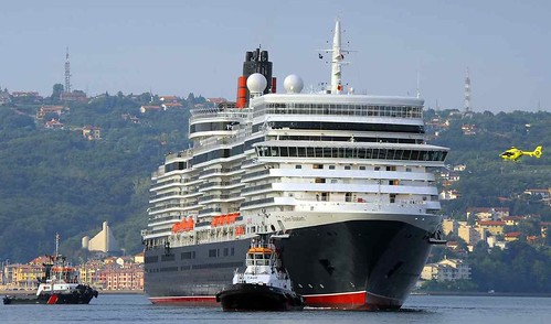 Queen Elizabeth Ship