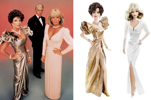 Dynasty by Mattel - side by side comparison