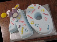 The Drums -Alex's Birthday Cake (Anka Leivi) Tags: birthday cake drums drum marbled