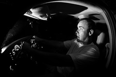 Late Night Driving - 305.365 (The Kristiano) Tags: window hockey driving tahoe chevy ambient 365days 580exii canoneos5dmarkii