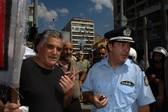 Anti-government demonstration - Thessaloniki, Greece (Teacher Dude's BBQ) Tags: demo police greece thessaloniki protests  75ththessalonikiinternationaltradefair
