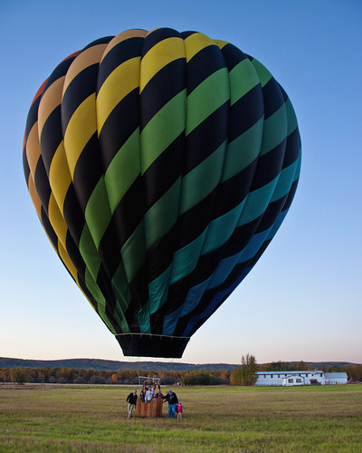 Balloon at Creamer's Field