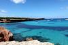 Bucht Formentera klares wasser IMG_1702