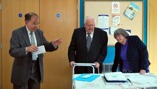 Minister, Bernard & Mavis