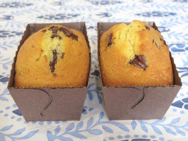 Mini cake con gocce di cioccolato 2