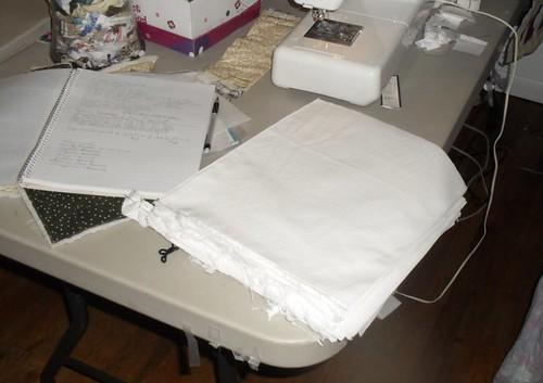 1B cut fabric