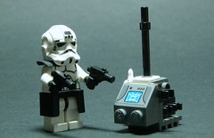 Lego Stormtrooper Captain (Commander Hess) Tags: storm trooper star lego gear empire imperial wars captian blasters