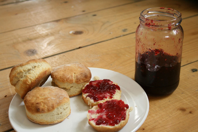 Bramble Jelly & Scones