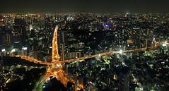 Tokyo is  (Aaron Webb) Tags: japan lights tokyo big cityscape kanji  tokyotower   tokyojapan japanday2