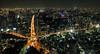 Tokyo is 大きい (Aaron Webb) Tags: japan lights tokyo big cityscape kanji 日本 tokyotower 東京 東京タワー tokyojapan japanday2 大