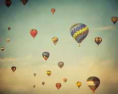 Do you realize that we are floating in space? (IrenaS) Tags: sky balloons quebec hotairballoons montgolfieres wwwirenesuchockicom