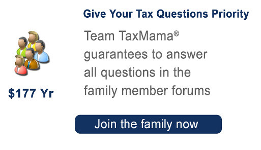 Give your tax questions priority as a family member at TaxMama