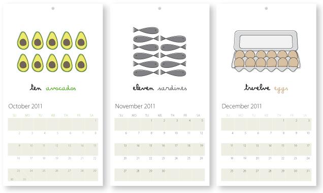 2011 Calendar - sneak peek