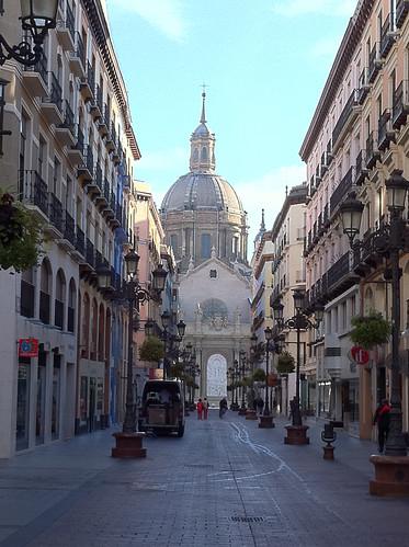 Pedestrian Street, Zaragoza, Spain