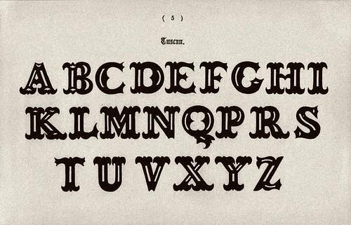 017-Alfabeto toscano-Examples of Modern Alphabets… 1913- Freeman Delamotte