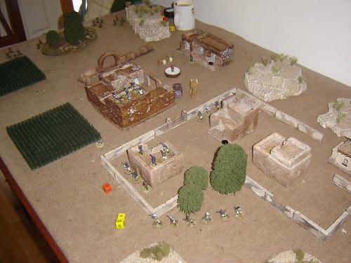 The Soviets move into the village