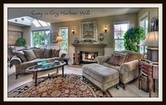 Cozy Family Room, Gig Harbor WA