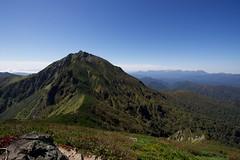 天狗岳からいよいよニペソツ山へ