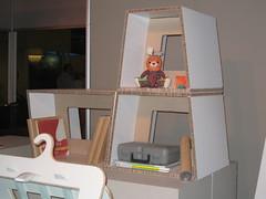 Eco-friendly fibreboard furniture