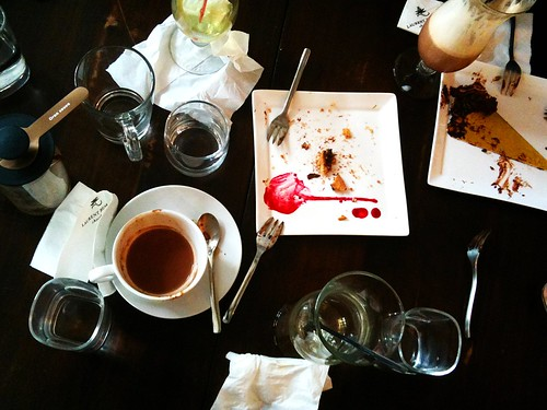Aftermath, Laurent's Cafe & Chocolate Bar