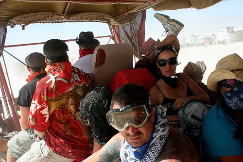 BURNING MAN 2010 - Team Ezra