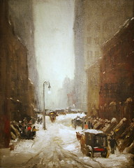 Snow in New York by Robert Henri