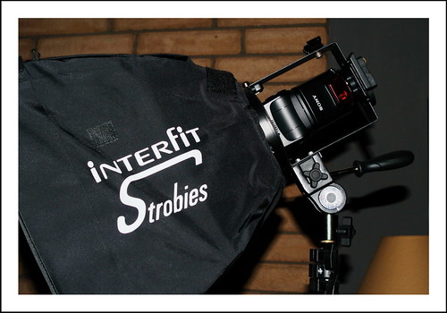 Interfit Strobies XS Softbox and Stand Lighting Kit