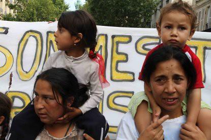 IMG_1977 Madres niños manifestación gitanos