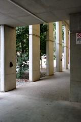 Unappealing. (Sam Hames) Tags: building architecture concrete pillars uq