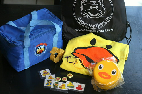 Prize pack of ducky goodies