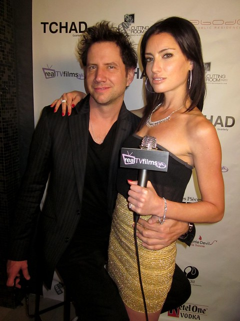 Jamie Kennedy, Samantha Gutstadt, RealTVfilms Social Media and Gifting Lounge ,The Cutting Room, Toronto Film Festival
