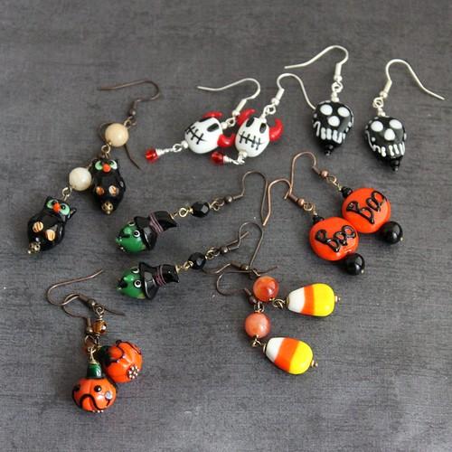 Halloween Earring Fun