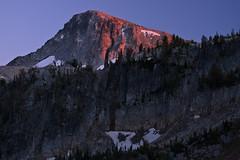 Sunset on Eagle Cap