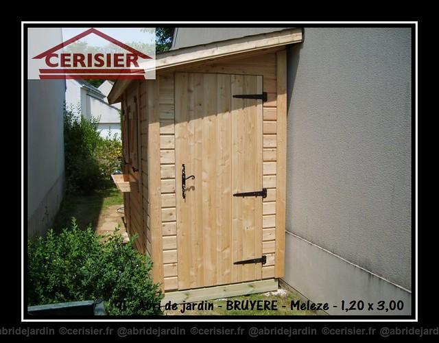 Abri de jardin BRUYERES by cerisier77310