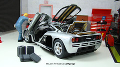McLaren F1 Road Car (jeffgarage) Tags: road car f1 mclaren 118 diecast autoart diecaster jeffgarage