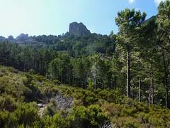 Entre la confluence Calva et le Castellucciu : Castellucciu vue d'une incursion en RD
