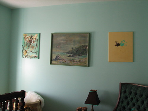 nursery - art wall