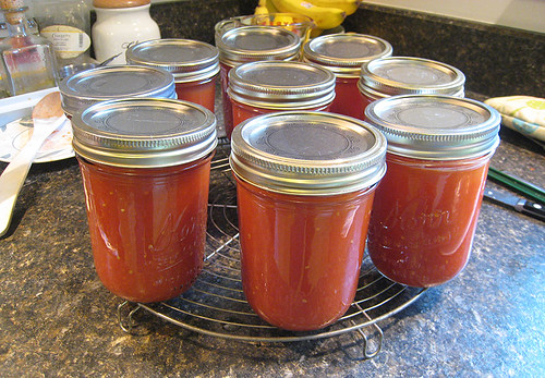 Canning 2010 - Tomatoes