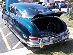 1952 HUDSON (classicfordz) Tags: blue hudson whitewall 1952 4dr carshowatstathamga
