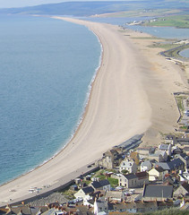 Chesil Beach at Portland Bill